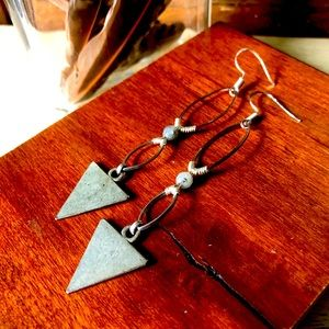 SOLD! Raspy Timbre Whistle Stop Earrings
